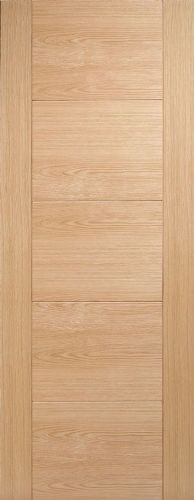 Internal Oak Vancouver Pre-Finished Oak 5 Panel Fire Door